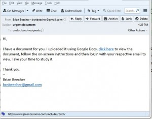 20150206 example of phishing email